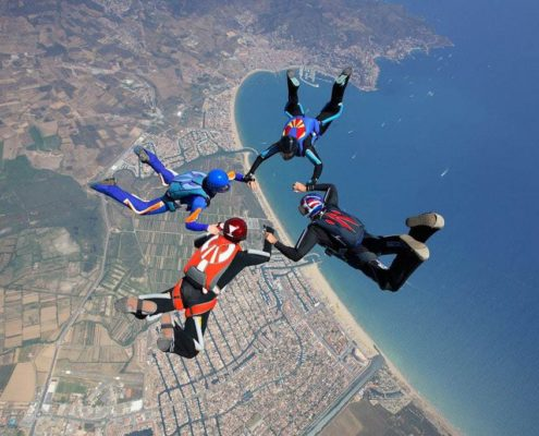 salto paracaidas empuriabrava